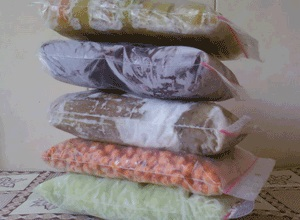 Вакуумные пакеты для заморозки продуктов в Москве оптом